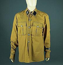 IS106 - Iron Sky - Washington's (Christopher Kirby) Brown German Shirt