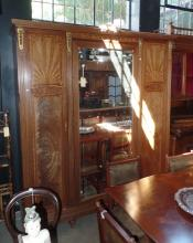 A Magnificent Late 19th Century French Wardrobe