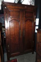 An 18th Century French Oak Provincial Cupboard