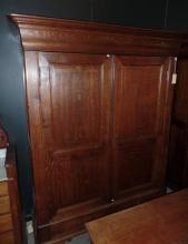 A 19th Century French Oak Cupboard