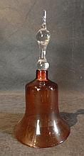 A 19th C Glass Bell