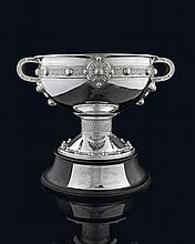 An English Hallmarked Silver Racing Trophy