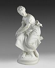 A Parien Porcelain Figure of a Lady