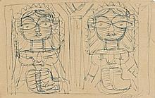 JAMINI ROY 1887 1972 Untitled