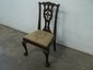 Old Mahogony chip N Dale Chair