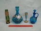 Beautiful Victorian Enameled Vase Lot