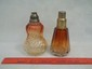 2 Old Baccarat Glass Oil Lamps