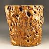 Superb Design Natural Nan Wood Brush Pot