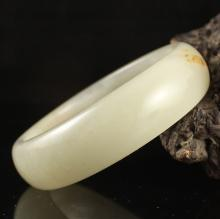 Inside Diameter 60 mm Chinese Natural Hetian Jade Bracelet