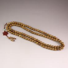 108 Beads Chinese Jichi Wood Pray Necklace
