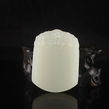 Superb Hand-carved Chinese Natural Hetian Jade Pendant