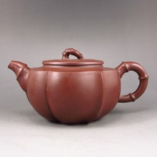 Fine Handmade Chinese Yixing Zisha Old Clay Teapot Artist Signed