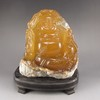 Hand-carved Chinese Shoushan Stone Statue - Laughing Buddha