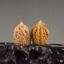 A Pair Chinese Natural Gymnastic Ball Walnuts