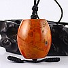 Beautiful Color Hand Carved Chinese Natural Zhan Guo Red Agate Pendant