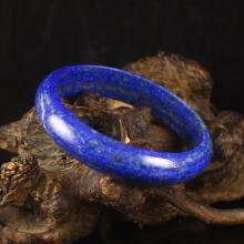 Internal Diameter 64 mm Chinese Natural Lapis Lazuli Bracelet