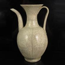 Chinese Hutian Kiln Porcelain Wine Pot