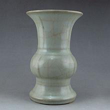 Chinese Long Quan Kiln Porcelain Big Cup w Tian Xi Mark