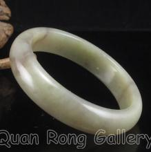 Internal Diameter 59 mm Hand Carved Chinese Natural Hetian Jade Bracelet