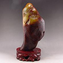 Superb Chinese Natural Hetian Jade Original Stone / Gamble Stone