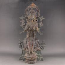 Chinese Bronze Statue - Buddhism Buddha