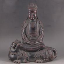 Chinese Bronze Statue - Buddhism Seated Buddha