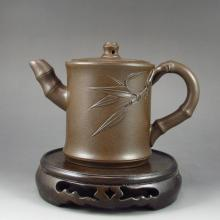 Superb Handmade Chinese Yixing Zisha Clay Teapot w Artist Signed