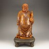 Superb Hand-carved Chinese Shoushan Stone Statue - Landlord / Millionaire