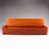 Hand-carved Chinese Huang Hua Li Hardwood Chopsticks & Box