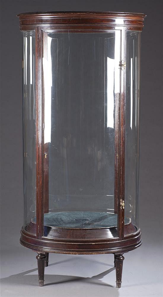 Mahogany Curio Cabinet, Ca. 1800
