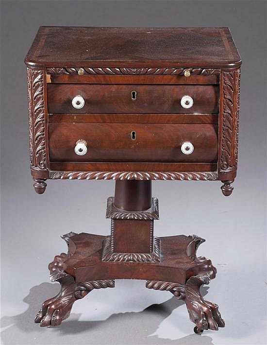 Philadelphia Work Table, Ca. 1830