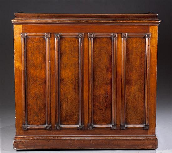 American Walnut Clerks Desk, Ca. 1890,