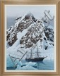 Terry Goodkind, Discovery, Oil on Canvas, Od: 47 H x 36 1/2 W Id: 39 1/4 H x 29 1/4 W