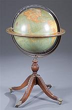 Kittinger 18-inch Terrestrial Library Globe, Buffalo, NY