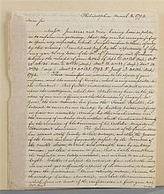 Edmund Jennings Randolph to William Short regarding the