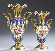 English Derby Two Piece Garniture