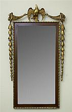 Parcel Gilt Fretwork Mirror