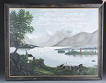 19th Century American School Folk Painting