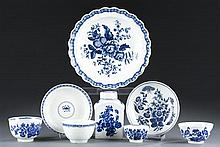 Eight (8) Pieces of 1st Period Royal Worcester