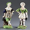 Pair of 19th Century Staffordshire Figurines