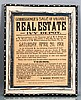 Charlottesville Real Estate Notification from 1901
