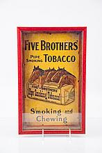 Five Brothers' Tobacco Advertisement