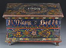 Miniature 1908 Painted Box