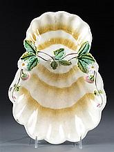 Majolica Strawberry Serving Dish