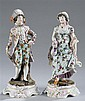 Pair of German Figurines