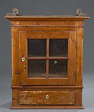 19th Century Pine Wall Hanging Cabinet