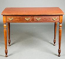 Sheraton Style Mahogany Table
