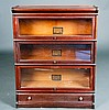 Globe-Wernicke Co. Three Tier Barrister Bookcase