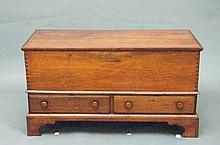 Chippendale Cherry Blanket Chest