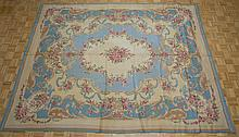 Needlepoint Floral Rug